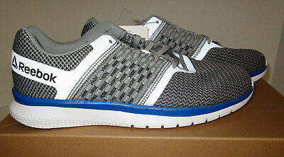 0143f346547da4 Reebok Men s PT Prime Runner Running Shoes Light Gray Size-9 - NO Box  .   115 Reebok Men Zoku Runner Ultraknit IS orange black white BS6312