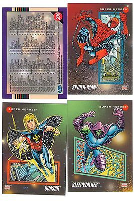Marvel Universe Series 3 III CARD Set 1992 200 card Impel Mint/NM
