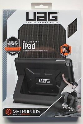 UAG Folio iPad 9.7-inch (2017 5th Gen & 2018 6th Gen) Case - Black, Lightweight