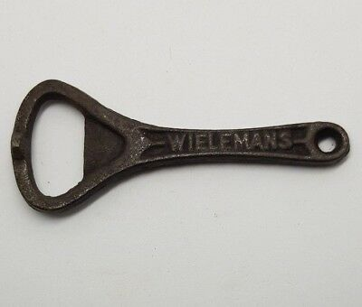 Wielemans Bottle Opener Old Metal Vintage
