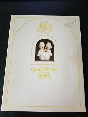 VTG Enesco Precious Moments OFFICIAL COLLECTORS ILLUST. GUIDE BOOK c1983 1st Ed