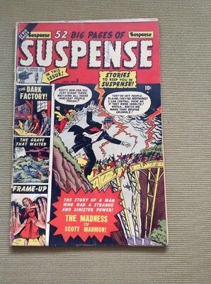 Suspense #6 Jan. 1951 Rare TV Tie-in Comic