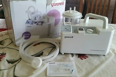 US SELLER- NEW, UNUSED Yuwell Electric Portable Phlegm Suction Unit 7E-A/B/D