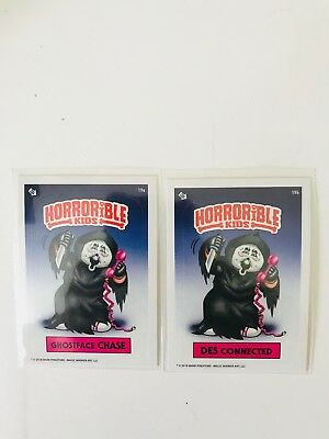 Horrible Kids Garbage Pail Kids 2018 Set Ghost Chase, Des Connected