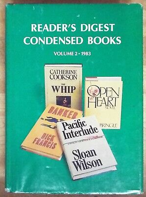 Readers Digest Condensed Books Volume 2 1983 4 In One #10  Rl