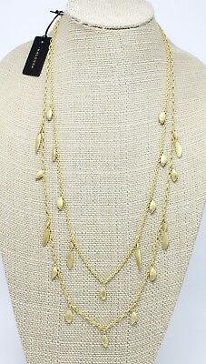 New Halogen Matte Gold Multi Strand Necklace from Nordstroms's $45 Tags #NS4