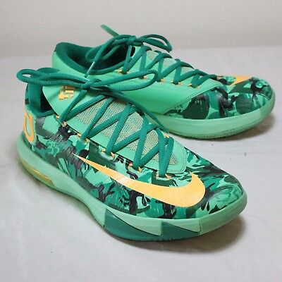 fdaae9d031a9 NIKE KD VI 6 Easter Light Lucid Green Sz 11  599424-303  -  54.00 ...