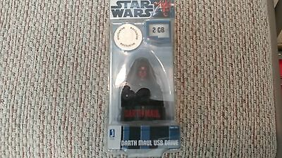 Collectors Star Wars Darth Maul 2GB USB Drive Exclusive New In Box Collectible