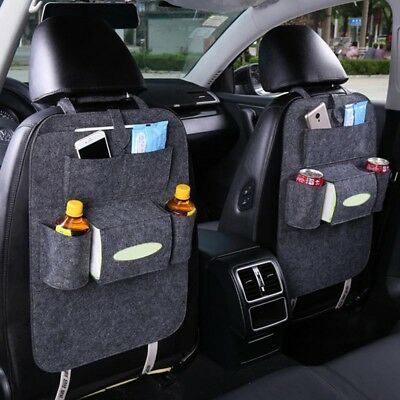 Car Back Seat Organizer Holder Multifunction Storage Bag Hanging Durable Travel