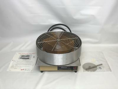 """Wisco Deli Wrap 630-1 10"""" 12"""" Pizza Capper Shrink Wrapper Stainless 1500W NEW"""