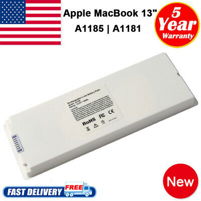"for Apple MacBook 13"" 200 2007 2008 2009 A1185 A1181 MA561 MA699 Battery/Charger"