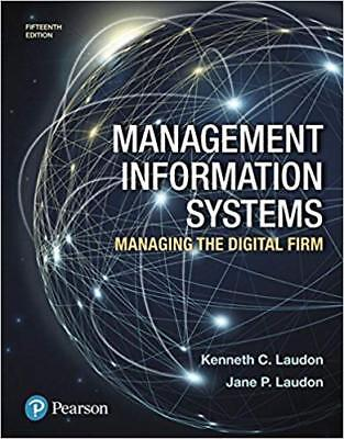 [PDF] Management Information Systems Managing the Digital Firm [15th GLOBAL Ed.]