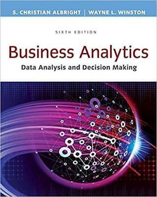 [PDF] Business Analytics Data Analysis & Decision Making 6th Edition by S. Chris