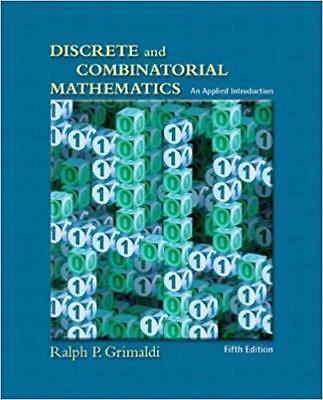 [PDF] Discrete and Combinatorial Mathematics An Applied Introduction, Fifth Edit