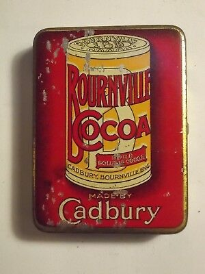 Old CADBURY Cocoa Small Sample Size Tin. G/VG