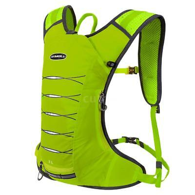3 Liters Cycling Hydration Backpack Lightweight Water-resistant Daypack Bag N9I9