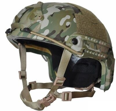 MULTI-CAM High Cut (Special Forces) LVL  IIIA Ballistic  Helmet-