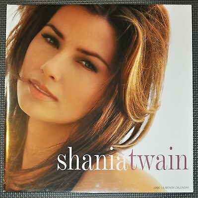 """Shania Twain 2000 US Collectible Calendar 12x12"""" *NEW* + now w/free gift"""