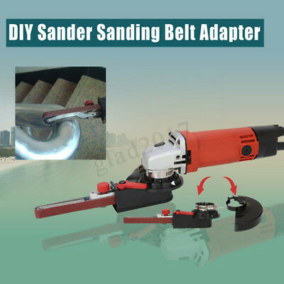 DIY Electric Saw Chain Chainsaw Stand Head Bracket Set For 4 Inch Angle Grinder