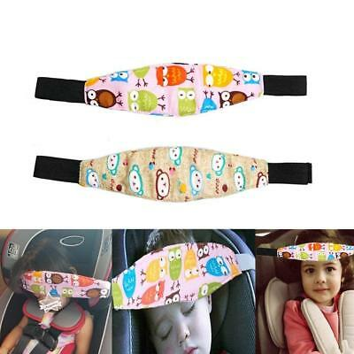 Car Seat Head Support Band Safety Pram Nap Holder with Adjustable Playpens for 2