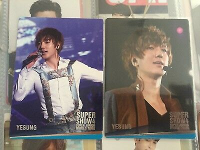 Super Junior - Yesung SS4 Encore Photocards