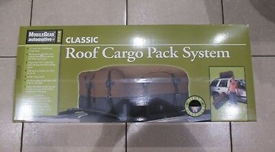 Brand New Unopened Weatherproof Roof Cargo Pack System 3in1