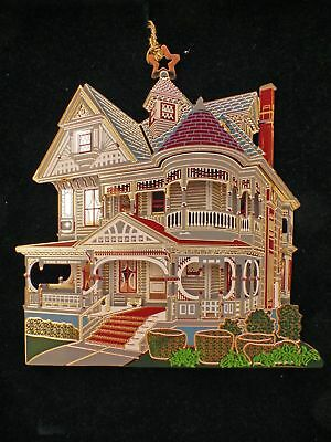 Shelia's Collectibles Ornament - Greenman House - #OSR02 - NIB