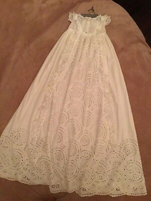 Antique Christening Gown 1860's