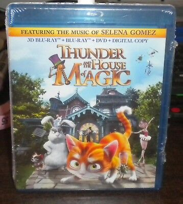 New Sealed Thunder & The House of Magic (Blu ray 3D & 2D, DVD +Digital 2 Disc)b1