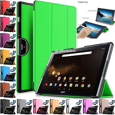 Magnetic Flip Smart Leather Stand Case Cover For Acer Iconia One 10 B3-A40 10.1""