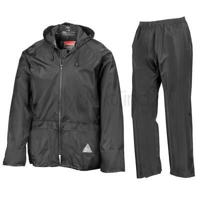 Result Waterproof Windproof Rain Suit Jacket/Coat & Trousers Set