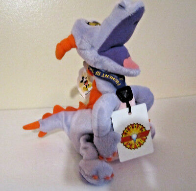 "New Disney Parks Figment 15"" Epcot Dragon Journey Into Imagination Plush Toy"