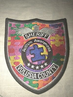 Volusia County Sheriff Autism Patch