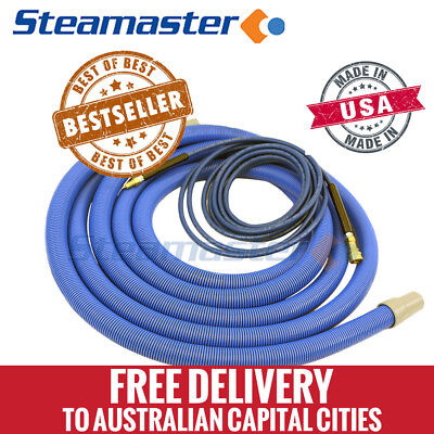 "Carpet Steam Cleaning Machines Extractor Hose 1.5"" 38mm Vacuum Solution Hose 15m"