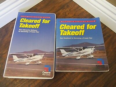 Cleared For Takeoff: Multimedia Training System- Handbook + Software Disc Binder