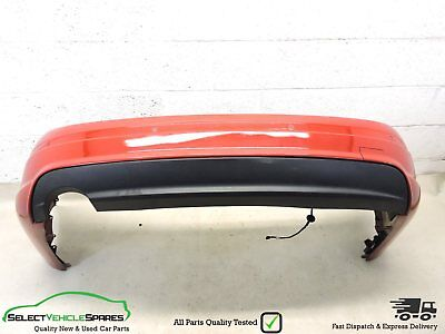 Mercedes C-Class W204 Saloon Amg/sport Red Rear Bumper 2007-2010 (Collection)