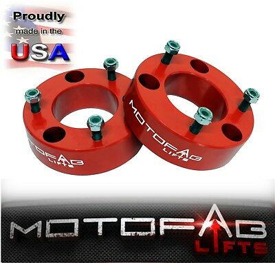 """2.5"""" Front Leveling lift kit for 2007-2019 Chevy Silverado GMC Sierra 1500 RED"""