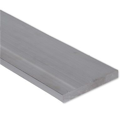 """1/2"""" x 3"""" Stainless Steel Flat Bar, 304 Plate, 6"""" Length, Mill Stock, 0.5"""""""
