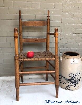 Antique East Tennessee  Weaver's Chair  c. 1830