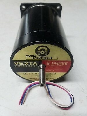 Oriental Motor Co. Vexta Stepping Motor Ph5913H-B 5 Phase Dc 2.8A 2 Ohm