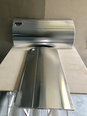 Fiat 131 abarth Gr.4 / Pair Aluminium Door Panels