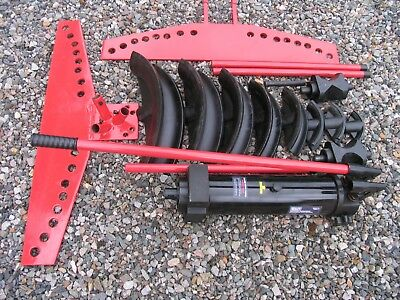 """3"""" nb SEALEY 15 TONNE INDUSTRIAL PIPE BENDER PBS91 V4 WITH STAND"""