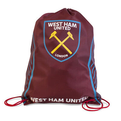 West Ham United Fc Swerve Design Gym Bag Pe School Swimming Sport New Xmas Gift