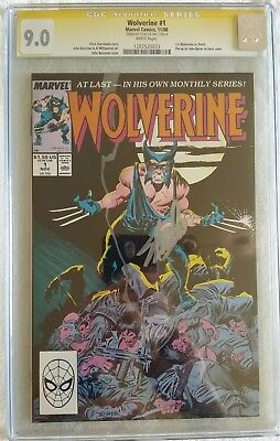 Wolverine 1 Cgc Ss Signed By Stan Lee