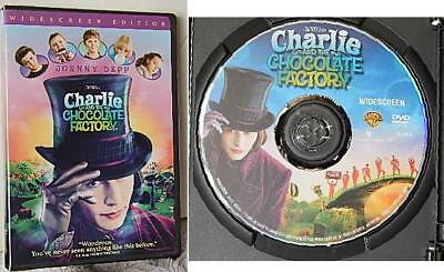 Charlie and the Chocolate Factory (Widescreen Edition) DVD Movie Johnny Depp
