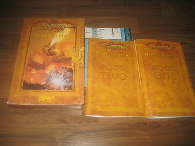 AD&D 2nd Edition Dragonlance Fifth Age Heroes of Hope Boxed Set TSR 1997 SAGA