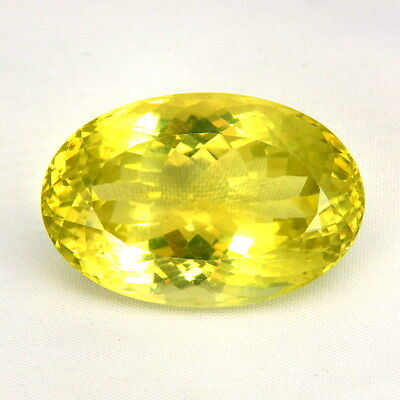 TOP BIG LEMON CITRINE : 71,19 Ct Natürlicher Lemon Citrin aus Madagaskar