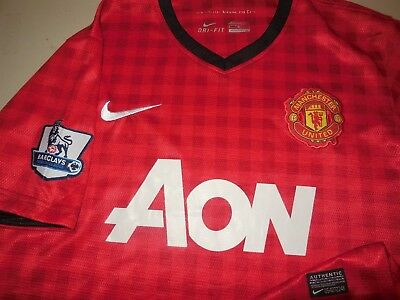 88ae34880 Nike Manchester United Soccer Jersey Red Team World Cup Training Athletic  Mens M