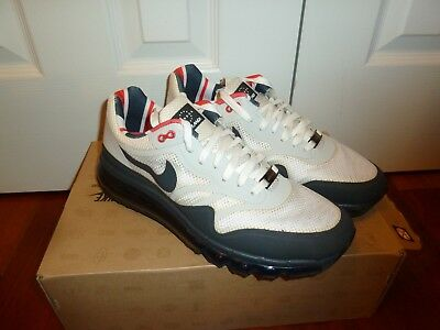 NIKE AIR MAX 1 SE Just Do It White Size 9.5 New DS JDI