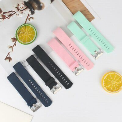 Replacement Silicone Watch Wrist Sports Band Strap For Fitbit Charge 2  KU
